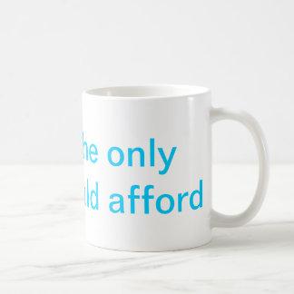 Still Affordable Basic White Mug