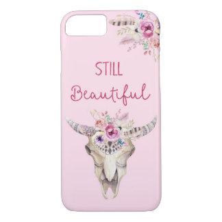 Still beautiful Antlers Flowers Boho Phonecase iPhone 8/7 Case