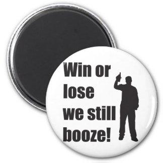 still booze 2 inch round magnet