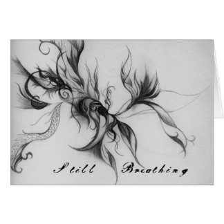 Still Breathing note card w/ envelope
