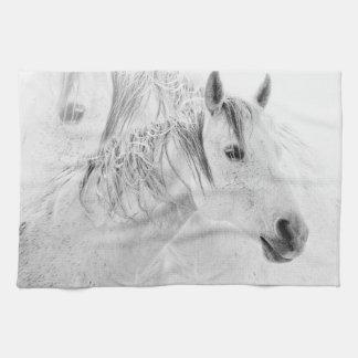 Still Horse Kitchen Towel