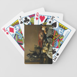 Still Life, 1643 (oil on panel) Bicycle Playing Cards