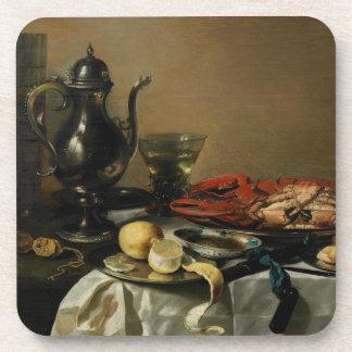 Still Life, 1643 (oil on panel) Drink Coaster