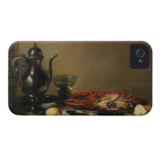Still Life, 1643 (oil on panel) iPhone 4 Case-Mate Case