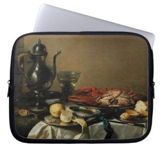 Still Life, 1643 (oil on panel) Laptop Sleeve