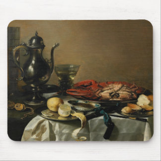 Still Life, 1643 (oil on panel) Mouse Pad