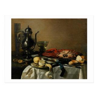 Still Life, 1643 (oil on panel) Postcard