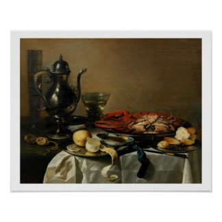 Still Life, 1643 (oil on panel) Poster