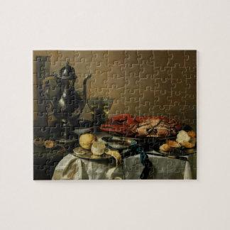 Still Life, 1643 (oil on panel) Puzzle