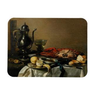 Still Life, 1643 (oil on panel) Rectangular Photo Magnet