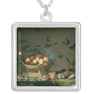 Still Life 2 Silver Plated Necklace
