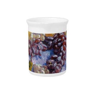 Still Life: Apples, Pears, Grapes - Van Gogh Drink Pitchers