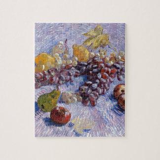 Still Life: Apples, Pears, Grapes - Van Gogh Jigsaw Puzzle