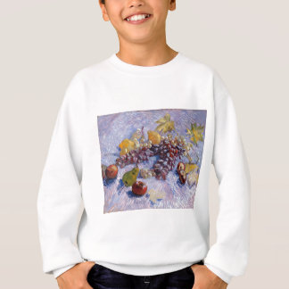 Still Life: Apples, Pears, Grapes - Van Gogh Sweatshirt