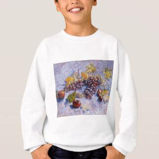 Still Life: Apples, Pears, Grapes - Van Gogh Sweatshirt