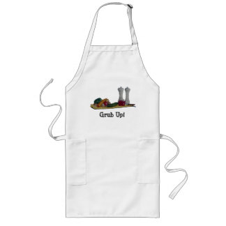 still life art peppers and vegatables apron