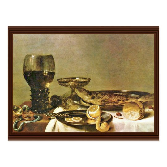 Still Life (B).,  By Willem Claesz. Heda Postcard