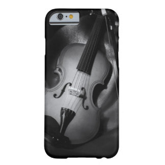 Still-life b&W image of a violin Barely There iPhone 6 Case