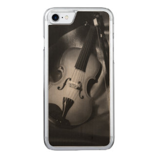 Still-life b&W image of a violin Carved iPhone 8/7 Case