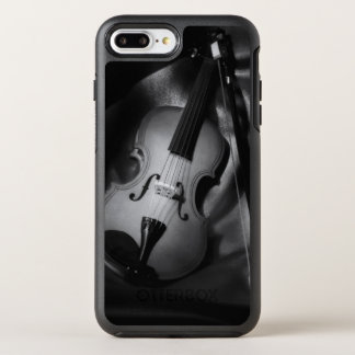 Still-life b&W image of a violin OtterBox Symmetry iPhone 7 Plus Case