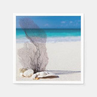 Still Life Beach Disposable Napkin