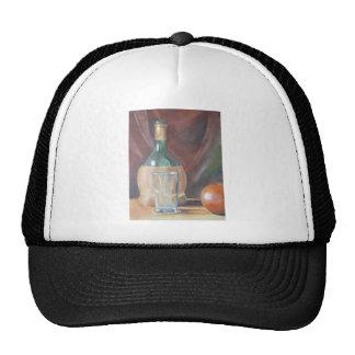 Still Life Bottle Trucker Hats