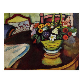 Still Life by August Macke Poster