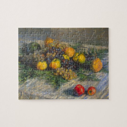 Still Life by Claude Monet Jigsaw Puzzle
