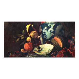 Still Life By Kalf Willem (Best Quality) Picture Card