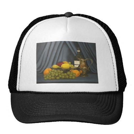 still life by Lucinda Knowlton Trucker Hats