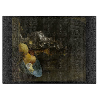 Still-Life by Willem Kalf Glass Chopping Board