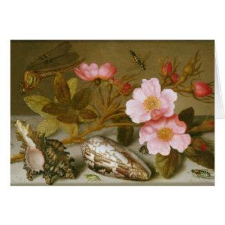 Still life depicting flowers card