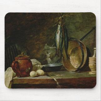 Still life: Fast Day Menu, 1731 Mouse Pad