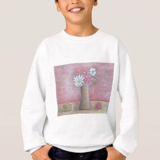 still life flowers sweatshirt