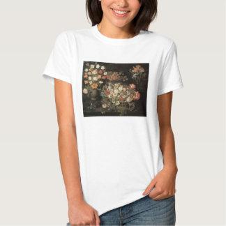 Still Life Flowers, Vintage Floral Baroque Shirt