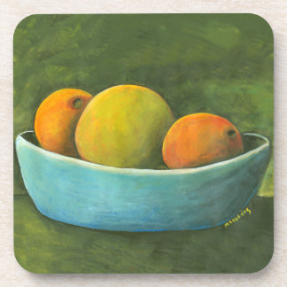 Still Life Fruit Bowl Coaster
