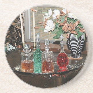 Still life image of grace and elegance drink coasters