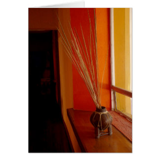 Still Life in Baja, Blank Greeting Card