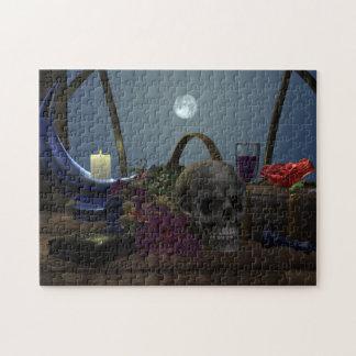Still Life in Moonlight Jigsaw Puzzle