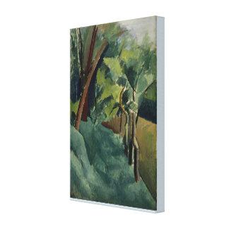 Still Life Landscape by Patrick Henry Bruce Canvas Print