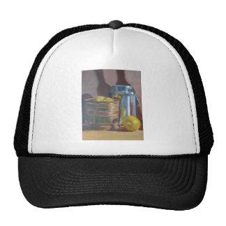 Still Life Lemons Mesh Hats