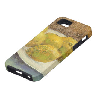 Still Life Lemons on a Plate by Vincent van Gogh iPhone 5 Case
