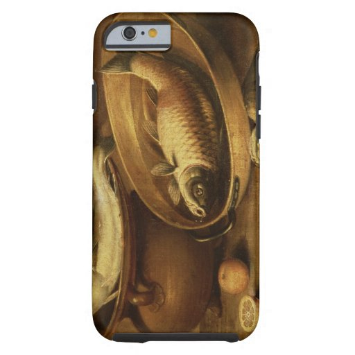 Still Life of Fish and Lemons iPhone 6 Case