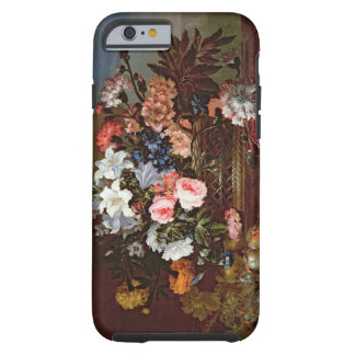 Still Life of Flowers in a Basket iPhone 6 Case