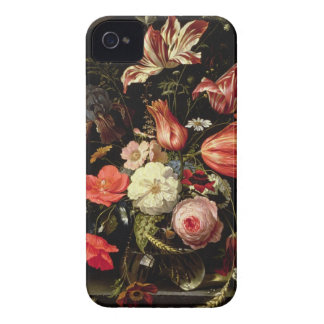 Still Life of Flowers on a Ledge iPhone 4 Cases