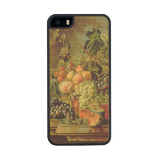 Still Life of Fruit Carved® Maple iPhone 5 Slim Case