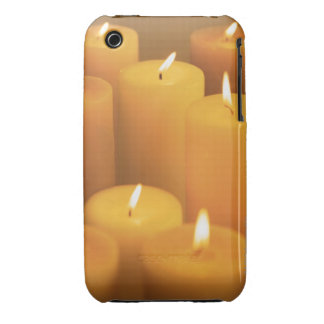 Still life of lighted candles iPhone 3 covers