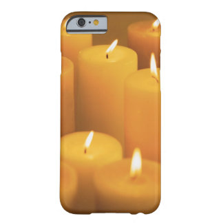 Still life of lighted candles iPhone 6 case