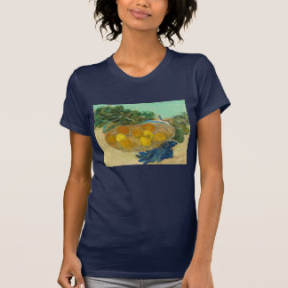 Still Life of Oranges and Lemons with Blue T-Shirt