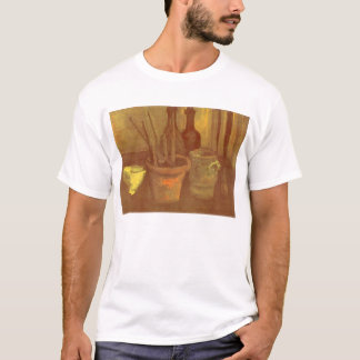Still Life Paintbrushes in a Pot Vincent van Gogh T-Shirt
